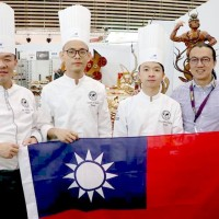 Young Taiwan baker wins 'best showpiece' in international competition