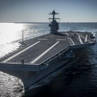 美國海軍宣布再添兩艘「戰力史上最強」福特級航母