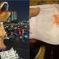 16-year-old girl dressed in T-Rex costume attacked by thug in S. Taiwan