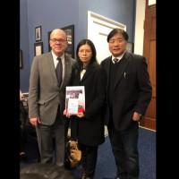 李明哲遭關押近700天 李凈瑜與美眾議員商討營救方式