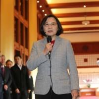 蔡總統:台商製造變台灣製造 避免貿易制裁波及