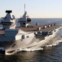 英國將派最新航母赴太平洋 制衡中國南海霸權美夢