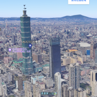 你知道嗎?Google地圖全新3D影像讓101站起來了!