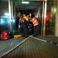 文化大學火警16學生一度受困 2人嗆傷送醫