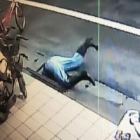 Man stuck in drain after trying to retrieve NT$10 coin in N. Taiwan