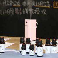 弘光科大妝品系教授易光輝和團隊抽驗市售精油,發現9成是人工香精調和。(圖/弘光科大妝品系)