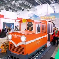 觀光局駛進以色列旅遊展 阿里山小火車超吸睛!