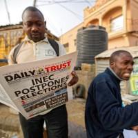 總統大選投票前5小時喊卡 奈及利亞候選人傻眼!