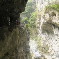 Swallow Grotto Trail in Taroko National Park