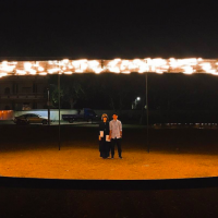 台南月津港燈節開跑 齊聚法國巴西藝術家