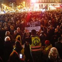 法國各地爆發反猶太遊行 民衆發起集會誓言對抗歧視