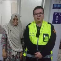 身體不適又搭錯車 波麗士大人助印尼遊客返捷運站