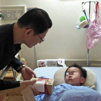 Boy awakens from coma 4 months after deadly train crash in Yilan, Taiwan