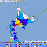 【緊急快報】北海道發生芮氏規模5.7強震