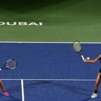 杜拜女網雙打決賽 網球一姐謝淑薇直落二奪金