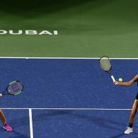 Taiwan's Hsieh and Czech partner Strycova win women's doubles in Dubai