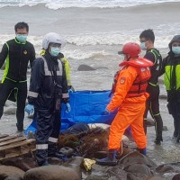 Unidentified body washes up on New Taipei shore