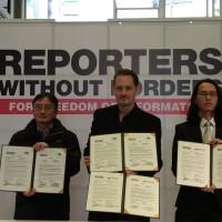 無國界記者組織在地化 東亞辦事處宣佈成立台灣分會