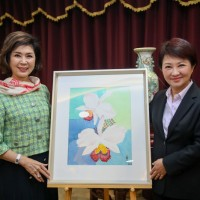 Veteran Taiwanese celebrity Betty Pai ambassador for Taichung Flora Expo