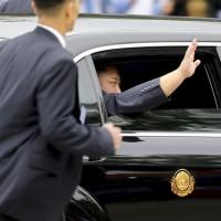 Kim readies for Trump after marathon journey, warm welcome