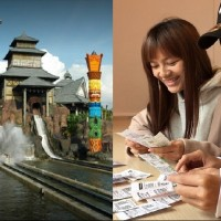 Taiwan's Leofoo Village offers NT$299 admission to visitors with an invoice containing '40'