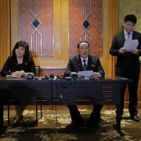 北韓外交部次長拒絕廢核 揚言中斷與美國談判