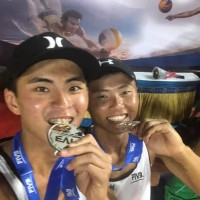 Taiwanese duo finishes second in Beach Volleyball World Tour event in India