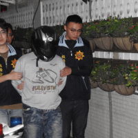 Banqiao bank robber caught by New Taipei Police