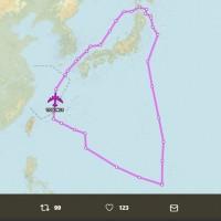湊熱鬧?!中國人大開幕 兩架美軍B-52轟炸機現身南海與東海