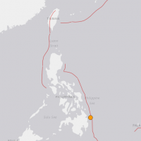 【地震快報】菲律賓民答那峨發生芮氏規模5.7地震
