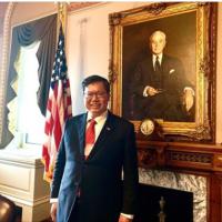 Taiwanese mayor visits White House