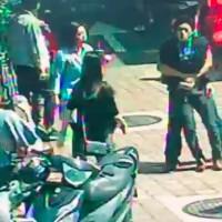 Japanese man caught taking 'upskirt' photo in Taipei