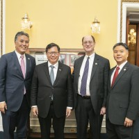 Mayor of Taoyuan, Taiwan meets with US senators and congressmen in Washington