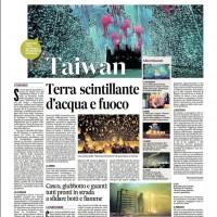 Taiwanese festivals illuminated in daily Italian newspaper