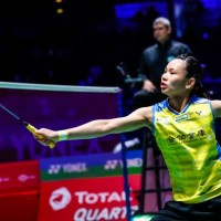 Taiwanese badminton star cruises into semis at All England Open