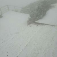 周一清晨玉山再降雪 乾冷後周二將回溫