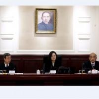 蔡總統召開國安會議 確立因應習近平「一國兩制台灣方案」機制