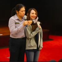 職場性騷擾Say NO! 勵馨攜手台灣帝亞吉歐 講座課程學防身術
