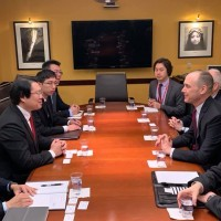 Taiwan Keelung mayor meets with senior US officials