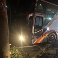 Tour bus crash in eastern Taiwan, 10 Chinese tourists injured