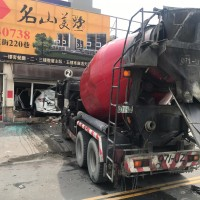 Taiwanese cement truck smashes SUV into duck restaurant during lunchtime