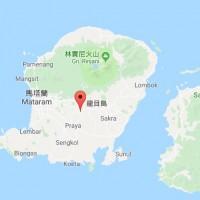 印尼龍目島淺層地震引發山崩 數十棟民宅被夷為平地