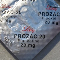 Prozac package.