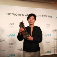 Inspiration for Taiwan 'Teenage Psychic' TV drama receives IOC Women and Sport World Award