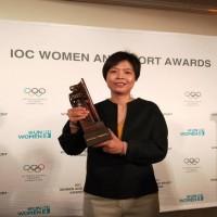 台灣之光在紐約!「通靈少女」本尊獲國際奧會女性與運動世界獎