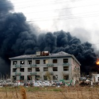 Death toll in China chemical blast rises to 47 as 1,000 residents evacuated