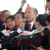 韓國瑜拜訪中聯辦未公開!香港泛民派:慘痛「死亡之吻」