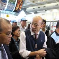 韓國瑜密會港、澳中聯辦 蔡總統:營造一國兩制氛圍