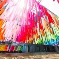 富邦「2019粉樂町」信義區登場 八國際藝術家引爆特色展區
