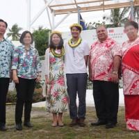 【更新】蔡總統訪諾魯扮月老 見證駐外人員用雞蛋戒指求婚成功